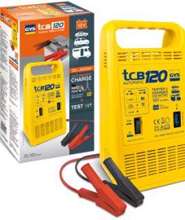 TCB 120 | 230 V | 12 V | 150 Watt | 30 – 120 Ah