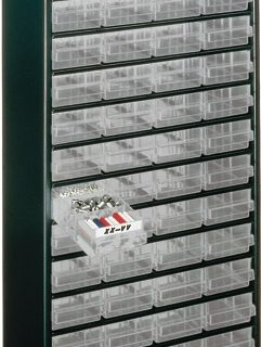 Kast Met 48 Laden, Type 150-01 1248-01