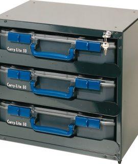 Safe Box Voor 3x Carry-Lite 80, Leeg, SB 3×80