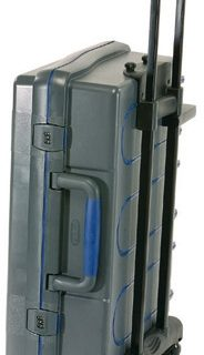 ServiceCase 10-Plus Trolley, Sleutel, Zwart/zilver/transpa