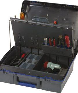 ServiceCase 10-Plus, Sleutel, Antraciet/blauw/antraciet
