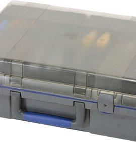ServiceCase 10-Plus, Sleutel, Antraciet/blauw/transp.