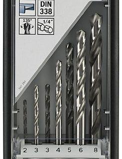 Metaalboren | Robustline HSS | Zeskant | 7-Delig | 2607019922 – 2608577146