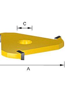 Groefmes HM 2mm