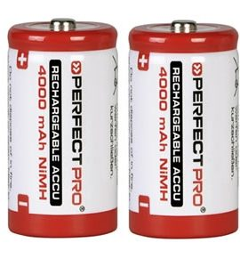 Oplaadbare Batterijen C-Cell 4000mAh | 2 Stuks