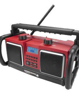 WORKMAN | FULLZISE | BouwRadio | Netstroom Of Batterij