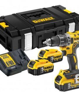 DCD791P3K 18V XR BL Schroef/boormachine 5.0Ah | + 3e Accu