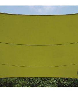 ZONNEZEIL – VIERKANT – 5 X 5 M – KLEUR: LICHTGROEN