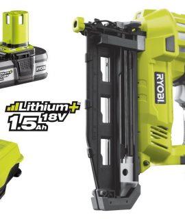 R18N16G-L15S (1.6mm) 16 Gauge Accu Afwerkingstacker | Met 1 Accu 1.5Ah